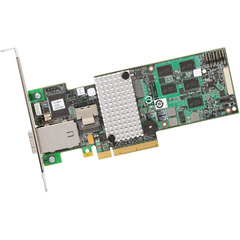 LSI Logic MegaRAID 9280-4i4e 8-port SAS RAID Controller - Serial Attached SCSI (SAS) - PCI Express x8 - Plug-in Card - RAID Supported - 0, 1, 5, 6, 10, 50, 60 R