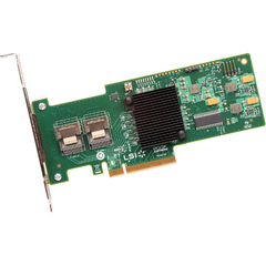 LSI Logic MegaRAID 9240-8i 8-port SAS RAID Controller - Serial Attached SCSI (SAS), Serial ATA/600 - PCI Express 2.0 x8 - Plug-in Card - RAID Supported - 0, 1,