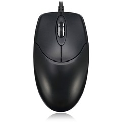 Adesso HC-3003US Desktop Optical Mouse - Optical - Cable - USB - 400 dpi - Scroll Wheel - 3 Button(s)
