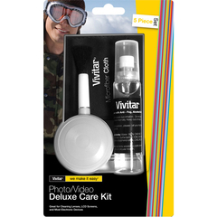Vivitar SCK-5 Photo/Video Deluxe Care Kit - Lens, Video Equipment, Photographic Equipment