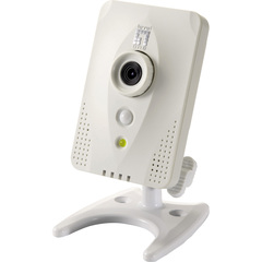 LevelOne H.264 Mega Pixel WCS-0030 Wireless N w/PIR and SD/SDHC card slot IP Network Camera - CMOS - Wireless