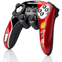 Thrustmaster F1 Ferrari F60 Limited Edition Game Pad - Wireless - Radio Frequency - PC, PlayStation 3