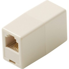 Steren BL-320-034IV Telephone Coupler Adapter - Ivory