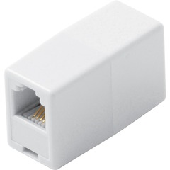 Steren BL-320-034WH Telephone Coupler Adapter - White