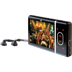 GPX ML759B 4 GB Black Flash Portable Media Player - Audio Player, Photo Viewer, Video Player, e-Book, Voice Recorder - 2.4