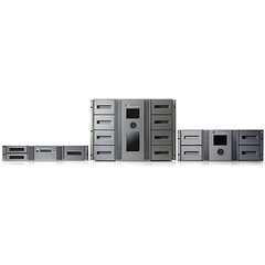 HP StorageWorks MSL8096 LTO Ultrium 5 Tape Library - 4 x Drive/96 x Slot - LTO Ultrium 5 - 144 TB (Native) / 288 TB (Compressed)