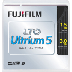 Fujifilm 81110000412 LTO Ultrium 5 WORM Data Cartridge with Custum Barcode Labeling - LTO Ultrium - LTO-5 - 1.50 GB (Native) / 3 TB (Compressed)