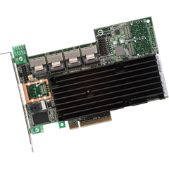 LSI Logic MegaRAID 9260-16i 16-port SAS RAID Controller - Serial Attached SCSI (SAS), Serial ATA/600 - PCI Express 2.0 x8 - Plug-in Card - RAID Supported - 0, 1
