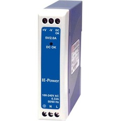 IMC IE-Power/5V AC Adapter - 5 V DC - 2 A For Media Converter