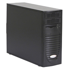 Supermicro SuperChassis 733i-500B Chassis - Mid-tower - Black - 6 x Bay - 1 x Fan - 500 W