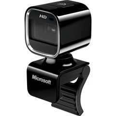 Microsoft LifeCam HD-6000 Webcam - USB 2.0 - 1280 x 720 Video - Auto-focus