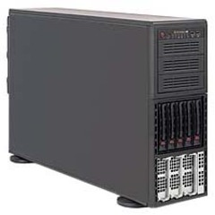 Supermicro A+ Server 4042G-TRF Barebone System Tower - AMD - Socket G34 LGA-1944 - 4 x Total Processor Support (Opteron) - 512 GB Maximum RAM Support - Serial A