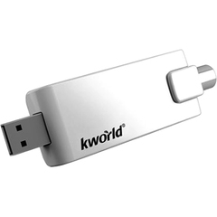 KWorld TV STICK PRO II UB490-A TV Tuner - Functions: TV Tuning, Video Decoding, Video Recording, FM Tuning, Audio Capturing - USB - NTSC, PAL, SECAM