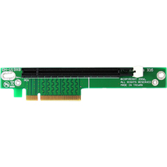 StarTech.com PCI Express Riser Card x8 to x16 Left Slot Adapter for 1U Servers - 1 x PCI Express x16