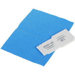 SIIG SD Memory Card Slot Cleaning Kit - Cleaning Kit - Plastic, MicroFiber