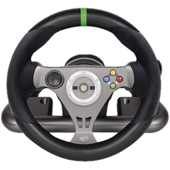 Mad Catz Gaming Steering Wheel - Wireless - Headphone - Xbox 360