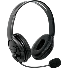 dreamGEAR X-Talk Headset - Stereo - Black - Wired - 20 Hz - 20 kHz - Over-the-head - Binaural - Ear-cup - 6 ft Cable - Noise Cancelling Microphone