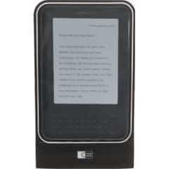 Case Logic EWS-101 Digital Text Reader Skin - Digital Text Reader - Black - Jersey, Thermoplastic Polyurethane (TPU)