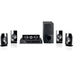 LG LHB336 5.1 3D Home Theater System - 180 W RMS - Blu-ray Disc Player - Dolby TrueHD, Dolby Digital Plus, DTS HD, Dolby Digital, DTS - BD-RE, DVD-RW, CD-RW - B