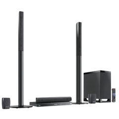 Panasonic SC-BTT770 5.1 3D Home Theater System - 1000 W RMS - Blu-ray Disc Player - Dolby Digital, Dolby Digital Plus, Dolby TrueHD, Dolby Pro Logic II, DTS, DT