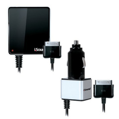 i.Sound Wall & Car Charger for iPhone and iPod - 5 V DC - 1 A For iPod, iPhone