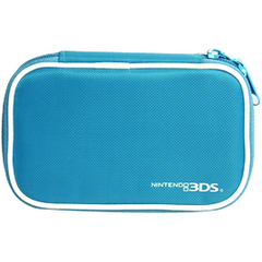 Hori Compact Case 3DS-006U Carrying Case for Portable Gaming Console - Blue - Scratch Resistant, Dirt Resistant