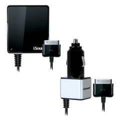 i.Sound Wall & Car Charger Pro for iPad, iPhone and iPod - 5 V DC - 2.10 A For iPad, iPod, iPhone