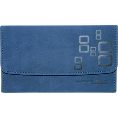 Mad Catz NOV257340N04/04/1 Carrying Case (Wallet) for Portable Gaming Console - Blue - Microsuede