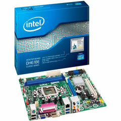 Intel Classic DH61BE Desktop Motherboard - Intel H61 Express Chipset - Socket H2 LGA-1155 - 10 x Bulk Pack - Micro ATX - 1 x Processor Support - 8 GB DDR3 SDRAM