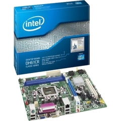 Intel Classic DH61CR Desktop Motherboard - Intel H61 Express Chipset - Socket H2 LGA-1155 - Micro ATX - 1 x Processor Support - 16 GB DDR3 SDRAM Maximum RAM - S