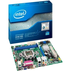Intel Classic DH61BE Desktop Motherboard - Intel H61 Express Chipset - Socket H2 LGA-1155 - Micro ATX - 1 x Processor Support - 8 GB DDR3 SDRAM Maximum RAM - Se