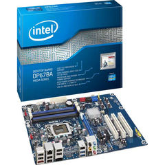 Intel Media DP67BA Desktop Motherboard - Intel P67 Express Chipset - Socket H2 LGA-1155 - 1 Pack - ATX - 1 x Processor Support - 32 GB DDR3 SDRAM Maximum RAM -