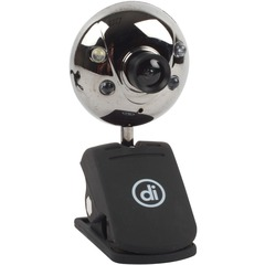 Micro Innovations ChatCam 4310100 Webcam - 0.3 Megapixel - USB - 640 x 480 Video - CMOS Sensor - Microphone