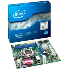 Intel Classic DH61WW Desktop Motherboard - Intel H61 Express Chipset - Socket H2 LGA-1155 - Micro ATX - 1 x Processor Support - 8 GB DDR3 SDRAM Maximum RAM - Se