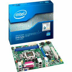 Intel Classic DH61WW Desktop Motherboard - Intel Chipset - Socket H2 LGA-1155 - 10 x Bulk Pack - Micro ATX - 1 x Processor Support - 8 GB DDR3 SDRAM Maximum RAM