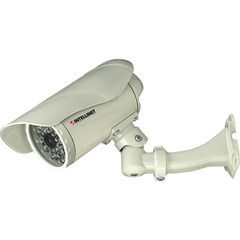 Intellinet NBC30-IR Outdoor Night-Vision Network Camera - White - Color - CMOS - Wired