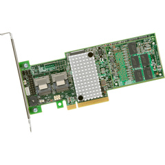 LSI Logic MegaRAID 9265-8i 8-port SAS RAID Controller - Serial Attached SCSI (SAS), Serial ATA/600 - PCI Express 2.0 x8 - Plug-in Card - RAID Supported - 0, 1,