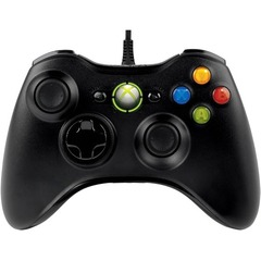 Microsoft Xbox 360 Controller for Windows - Cable - USB, Headphone - Xbox 360, PC
