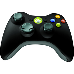 Microsoft Xbox 360 Wireless Controller for Windows - Wireless - Radio Frequency - USB, Headphone - PC