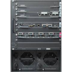 Cisco Catalyst 6509-E Switch Chassis - Manageable - 9 x Expansion Slots - PoE Ports
