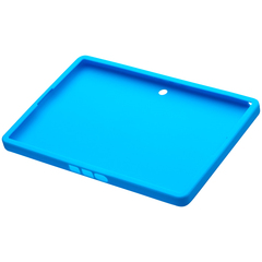 BlackBerry PlayBook Skin, Sky Blue - Tablet PC - Translucent Sky Blue - Textured - Gel, Silicone
