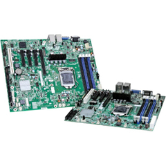 Intel S1200BTS Server Motherboard - Intel C202 Chipset - Socket H2 LGA-1155 - Micro ATX - 1 x Processor Support - 32 GB DDR3 SDRAM Maximum RAM - Serial ATA/300