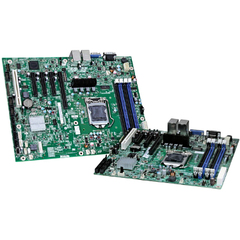 Intel S1200BTS Server Motherboard - Intel C202 Chipset - Socket H2 LGA-1155 - 10 x Bulk Pack - Micro ATX - 1 x Processor Support - 32 GB DDR3 SDRAM Maximum RAM