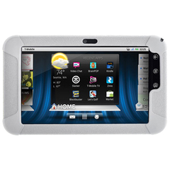 Amzer Jelly Tablet PC Skin - Tablet PC - Transparent White - Silicone