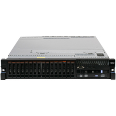 IBM System x 7147H2U 2U Rack Server - 2 x Intel Xeon E7-2870 2.40 GHz - 2 Processor Support - 256 GB Standard/512 GB Maximum RAM - 2.40 TB HDD - 400 GB SSD - DV