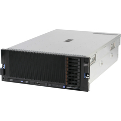 IBM System x 7143D1U 4U Rack Server - 4 x Intel Xeon E7-4850 2 GHz - 4 Processor Support - 128 GB Standard - Serial Attached SCSI (SAS) RAID Supported Controller - Gigabit Ethernet