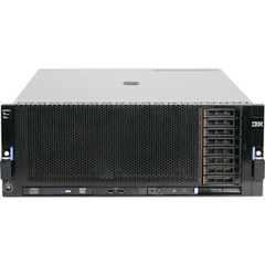 IBM System x 7143D2U 4U Rack Server - 4 x Intel Xeon E7-4860 2.26 GHz - 4 Processor Support - 128 GB Standard - Serial Attached SCSI (SAS) RAID Supported Controller - Gigabit Ethernet