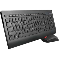 Lenovo Ultraslim 0A34032 Keyboard and Mouse - USB Wireless RF Keyboard - 103 Key - English (US) - USB Wireless RF Mouse - Laser - 3 Button - Scroll Wheel