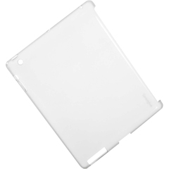 Kensington Protective Back iPad Case - iPad - White - Rubber