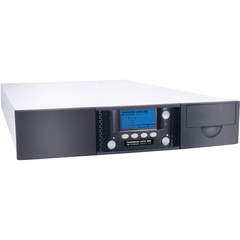 Tandberg Data StorageLibrary T24 2486-LTO Tape Library - 1 x Drive/12 x Slot - LTO Ultrium 4, LTO Ultrium 5 - 9.60 TB (Native) / 19.20 TB (Compressed) - Serial